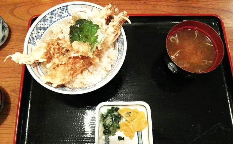 やぶ福-天丼