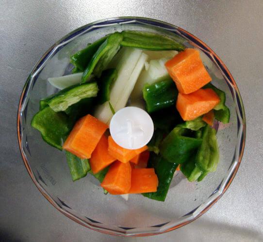 マルチクイック9に入れた野菜