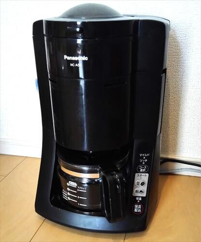 沸騰浄水コーヒーメーカーパナソニックNC-A56